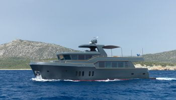 M/Y GreyStone: Launched by ATM Yachts