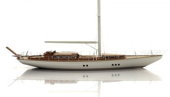 S/Y Portobello: Hull color to be changed
